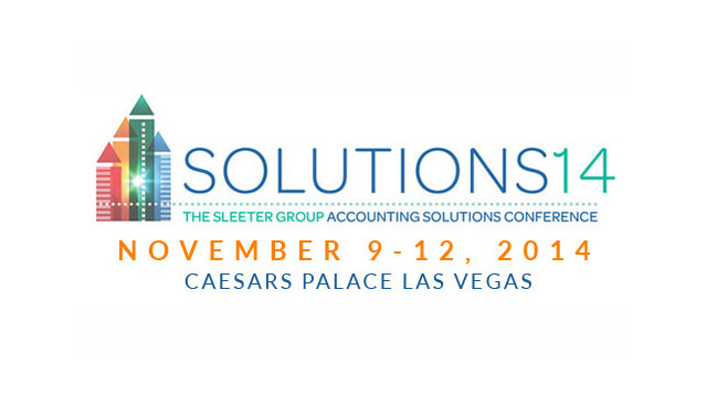 Solutions14 Conference to Focus on Empowering Professional Accountants