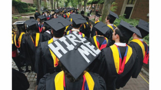 Survey Shows Most 2014 College Grads Are Under-Employed