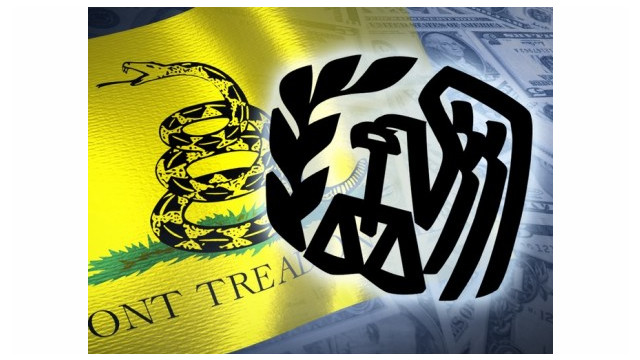 Federal Judge Dismisses IRS Lawsuit, Moves Tea Party Scandal to Back Burner