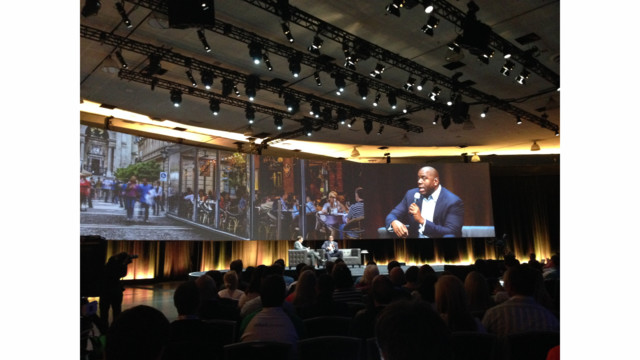 Slideshow: Intuit QuickBooks Connect 2014 with Magic Johnson