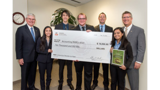 UNLV Business Students Win AICPA Accounting Competition