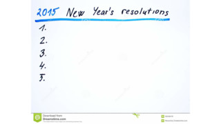 5 Financial Resolutions for 2015