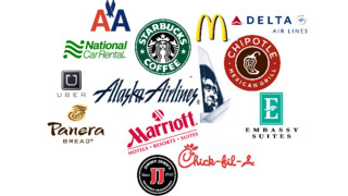 Report Shows Business Travelers' Favorites: Uber, Starbucks, Chipotle, Marriott Top List
