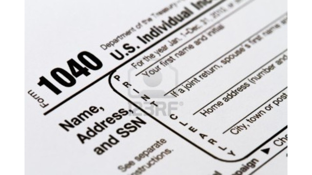 Download And Print Official 2014 Irs Tax Form 1040