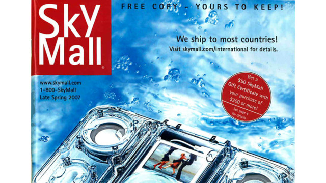 SkyMall Magazine Files for Bankruptcy