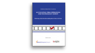2nd Annual Accounting Firm Operations & Technology Survey eBook Released