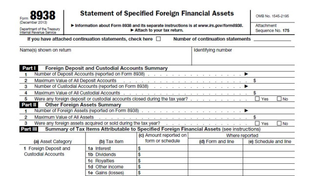 Fbar And Fatca Filings Due June 30 For Taxpayers With Overseas Assets