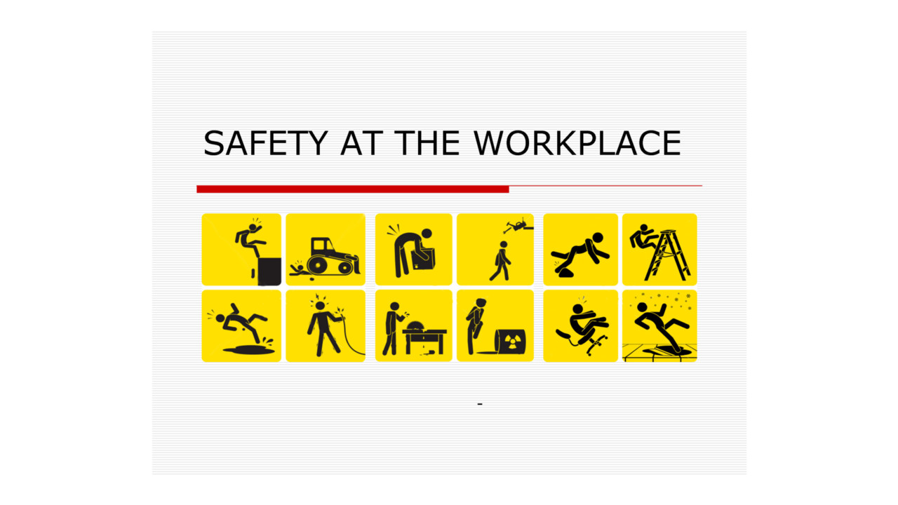 How To Implement A Workplace Safety Plan And Why You Need To
