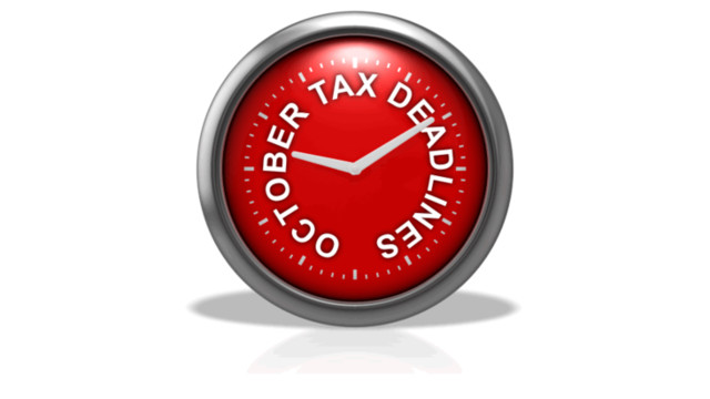 large october tax deadline clock fast times text 10762 1  56129152e4731