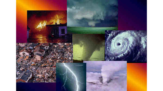 Natural Disasters List In Last  Years Us