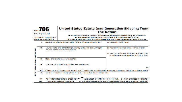 Aicpa Wants Changes To Irs Estate Tax Form And Instructions