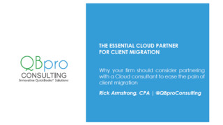 The Essential Cloud Partner for Client Migration