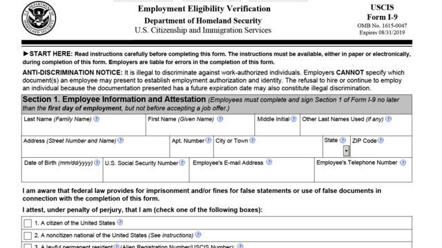 pdf of i-9 form - 2016 employment eligibility | cpa practice advisor