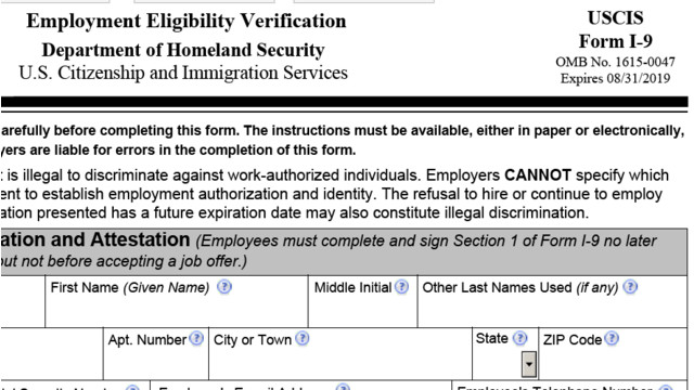 New I-9 Form Released, Required After Jan. 22, 2017