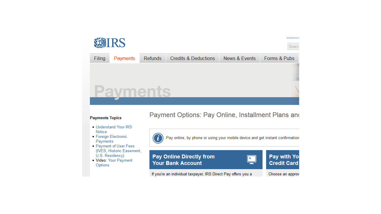 Irs Simplifies Online Access To Basic Taxpayer Account Information
