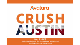 CRUSH National Tax Compliance Automation Conference - Avalara
