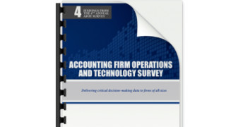 4th Annual Accounting Firm Operations &Technology Survey Results Are Available