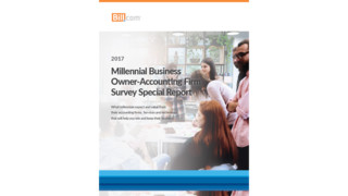 Millennial Business Owner-Accounting Firm Survey Special Report