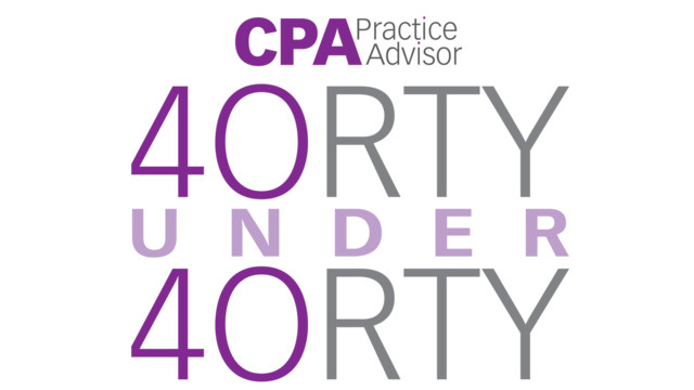 Nominate a Professional for CPA Practice Advisor's 40 Under 40 and 20 Under 40