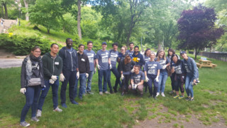 Accounting Firm Gives Back with Day of Service