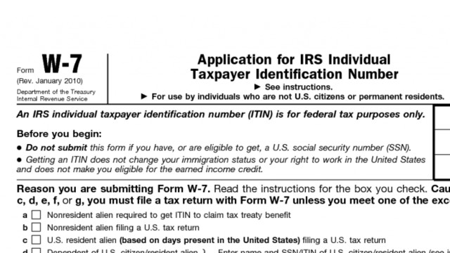 Irs Sending Itin Renewal Notices To Taxpayers Cpa Practice Advisor