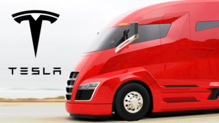 Tesla Shows Off New Electric Semi Truck, and Car that Does 250 mph