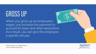 What Is a Tax Gross Up for Payroll?