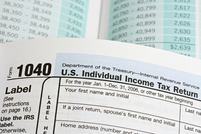 Printable IRS Form 1040 for Tax Year 2017 - For 2018 Income Tax Season
