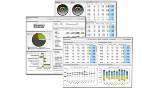 NetCharts Performance Dashboards Solution for Dynamics