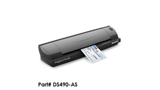 ImageScan Pro 490i Duplex ID Card & Document Scanner