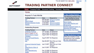 Activant Trading Partner Connect