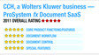 Review of ProSystem <em>fx</em> Document SaaS - 2011