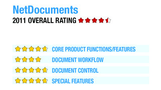 Review of NetDocuments - 2011