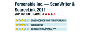 Personable Inc. — ScanWriter & SourceLink 2011
