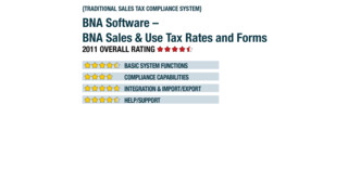 2011 Review of BNA Software – BNA Sales & Use Tax Rates and Forms