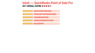 2011 Review of Intuit — QuickBooks Point of Sale Pro