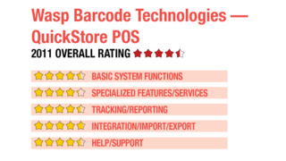 2011 Review of Wasp Barcode Technologies — QuickStore POS