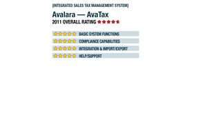 2011 Review of Avalara — AvaTax
