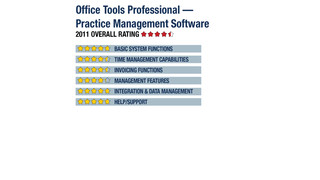 2011 Review of Office Tools Professional — Practice Management Software