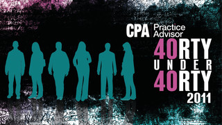"CPA Practice Advisor Announces 2011 ""40 Under 40"" Honorees"