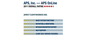 2011 Review of APS, Inc. — APS OnLine Payroll