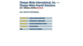 2011 Review of Cheque-Mate International, Inc. — Cheque-Mate Payroll Solutions