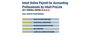 2011 Review of Intuit Online Payroll for Accounting Professionals by Intuit ProLine