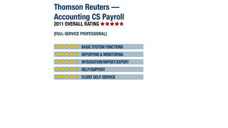 2011 Review of Thomson Reuters — Accounting CS Payroll
