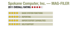 2011 Review of Spokane Computer, Inc. — MAG-FILER