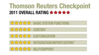 2011 Review of Thomson Reuters Checkpoint
