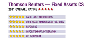 2011 Review of Thomson Reuters — Fixed Assets CS