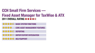 2011 Review of CCH Small Firm Services — Fixed Asset Manager for TaxWise & ATX