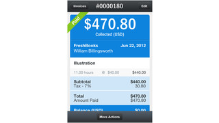 FreshBooks Releases New iPhone App