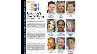 Tomorrow's Leaders Today: The 2012 40 Under 40 Honorees
